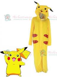 Pikachu Costume Pokemon Pikachu Cosplay Costume For Sale
