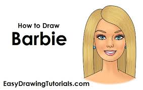 draw barbie