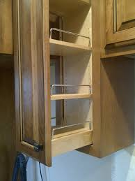 Slide Out Spice Racks For Kitchen Cabinets by Pull Out Spice Rack Helps You To Place Your Spices Well Home