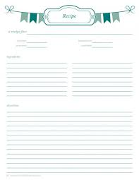 free printable recipe pages meal planning binder recipe pages recipe binders binder and