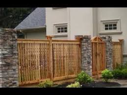 Home Fencing Design Ideas YouTube - Home fences designs