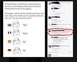 being a nerd keeps him from understanding language jokes imgur