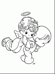 brilliant precious moments children coloring pages with precious