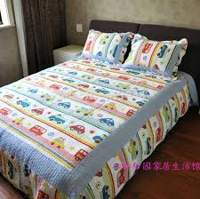 Kid Bedspreads And Comforters Boys Bedspreads On Big Rigs Construction Vehicles Quilt Bedding
