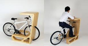 Diy Bike Desk Pit In A Drive In Desk For Bikes Conference Room Desks And Room