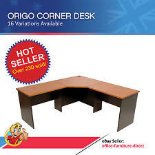 L Shaped Student Desk Corner Desk L Shaped Home Office Desk Ebay