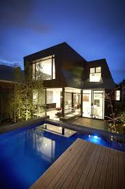 modern house plan with pool alovejourney me