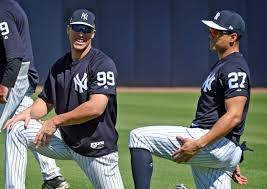 Aaron Judge Breaks Mlb Rookie Record With 50th Home Run Rolling Stone - aaron judge and giancarlo stanton chase mlb history tsl