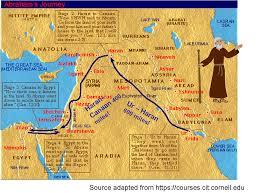 Fertile Crescent Map Beginnings Of Judaism Lagan R E