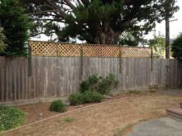 backyard vinyl fence ideas amazing low maintenance fence idea