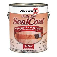 Wood Floor Sander Rental Home Depot by Zinsser 1 Gal Sealcoat Clear Matte Sanding Sealer Case Of 2 821