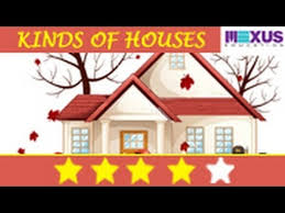 science lessons learn the types of houses youtube