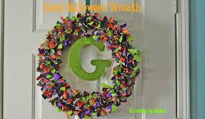 halloween wreath diy halloween rag wreath