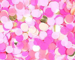 hot pink tissue paper tissue paper confetti pink party hot pink coral