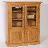 Best Bookshelves For Home Library by Furniture Black Wooden Book Case With Glass Door Placed On Cream