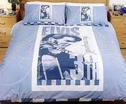 Elvis Comforter Exxxtreme Sheets Califonia King Size Rubber Bed Sheets Black