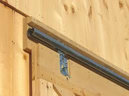 Installing A Sliding Barn Door Installing Barn Door Lock Systems The Door Home Design