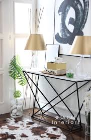 Hairpin Leg Console Table 34 Stylish Console Tables For Your Entryway Digsdigs
