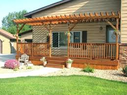 Open Patio Designs Permanent Backyard Canopy Small Canopy For Deck Medium Size Of