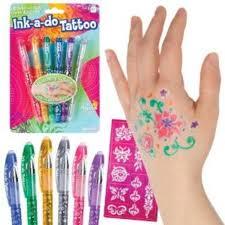 toysmith ink a do tattoo pens multi colored walmart com