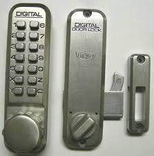 lockey 2500 keyless mechanical digital sliding door hook lock