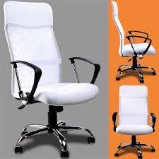 chaise de bureau blanche design fauteuil de bureau blanc achat vente fauteuil de bureau blanc
