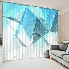 Classics Curtains Photo Customize Size Modern Home Decor Custom 3d Photo Style