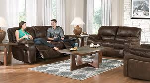 Burgundy Living Room Set Manual U0026 Power Reclining Living Room Sets With Sofas