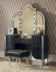 black vanity set with lights stylish makeup vanity table with lights set black designs t3dci org