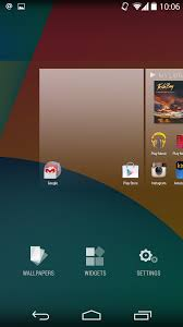 getting know android kitkat home screen greenbot
