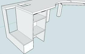 Diy Corner Computer Desk Plans Diy Corner Computer Desk Corner Desk Realvalladolid Club
