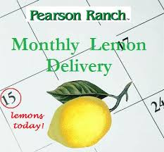 monthly fruit delivery get lemons delivered every month right to your door