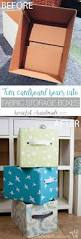 best images about organization ideas pinterest storage easy diy fabric storage boxes
