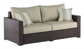 Agio Wicker Patio Furniture - sofas center wicker outdoor sofa tableswicker clearancebrown