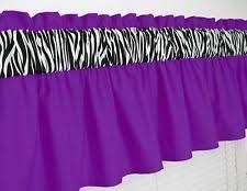 Zebra Valance Curtains Zebra Curtains Ebay