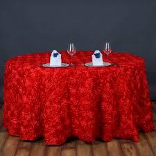 wedding linens for sale 120 satin ribbon rosette tablecloth designer wedding