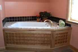 natural bathroom ideas innovative bathroom design with square white corner bath tub also
