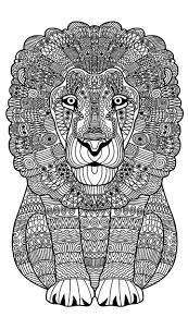385 best coloring lion tiger images on pinterest tigers lions