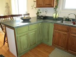 Chalk Paint Kitchen Cabinets Kitchen Cabinets Used Olive Green Painted Kitchen Cabinets Used