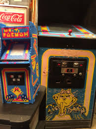 Ms Pacman Cabinet Just Finished This Perler Bead Ms Pacman Cabinet X Post To R