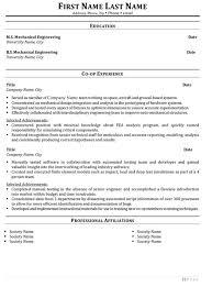 Sample Resume Of Mechanical Engineer by Download European Design Engineer Sample Resume