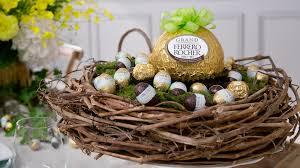 beautiful easter baskets easter ferrero rocher australia