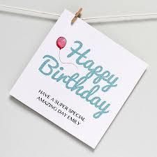 happy birthday u0027amazing day u0027 greeting card martha brook