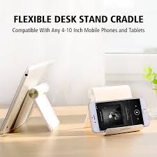 desk phone holder for iphone universal mobile phone stand flexible