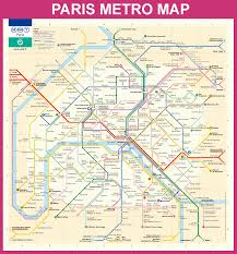 France World Map Official Paris Metro Map You Never Really Know Where You Are In