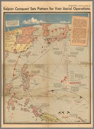 Map Pattern Saipan Conquest Sets Pattern For Vast Aerial Operations David