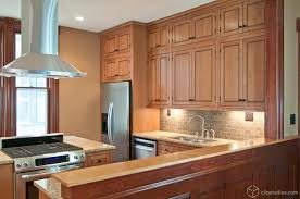 Backsplash Maple Cabinets Wood Countertops Kitchen Paint Colors With Maple Cabinets Lighting