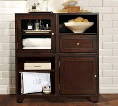 floor cabinet with drawers remarkable tall white corner bathroom storage cabinet with doors and