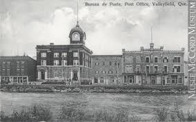 Bureau De Poste 7 - mp 0000 943 7 bureau de poste valleyfield qc vers 1910
