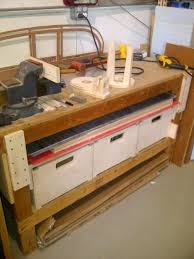 Woodworking Bench Plans Simple by Plans Needed To Build A Simple Workbench Pirate4x4 Com 4x4 And